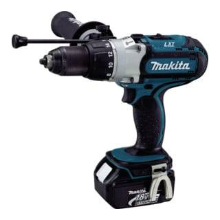 Makita Perceuse-visseuse à percussion 3 vitesses sans fil 18 V/5,0 Ah DHP451RTJ