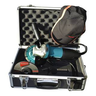 Makita Meuleuse d'angle Makita 125mm en coffret avec accessoires 720 W GA5030RSP1