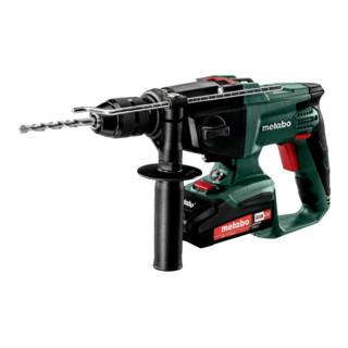 Metabo Perceuse à percussion sans fil SBE 18 LTX (600845510); Coffret; 18V 2x2Ah Li-Ion + ASC 55