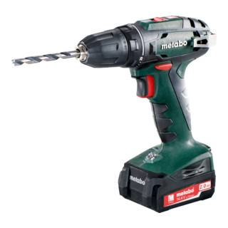 Metabo Perceuse-visseuse sans fil BS 14.4 (602206530); Coffret; 14.4V 2x2Ah Li-Ion + SC 30