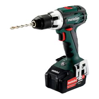 Metabo Perceuse-visseuse sans fil BS 18 LT (602102500); Coffret; 18V 2x4Ah Li-Ion + ASC 55