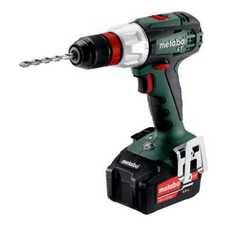 Metabo Perceuse-visseuse sans fil BS 18 LT Quick (602104500); Coffret; 18V 2x4Ah Li-Ion + ASC 55