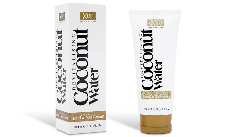 1x Soin cosmétique Eau de coco : crème pour les mains et les ongles 100 ml