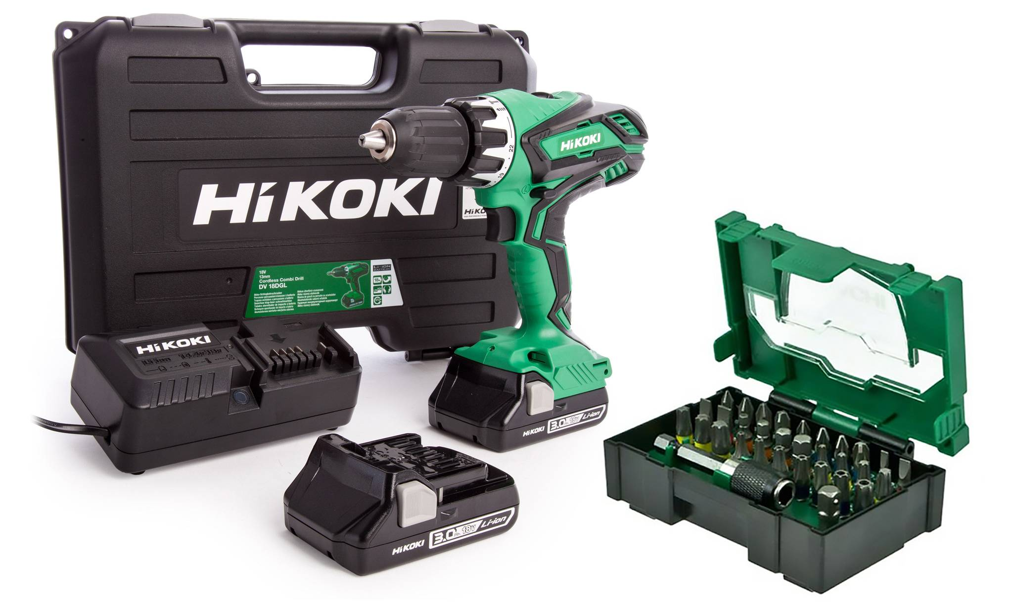 Visseuse perceuse Hitachi Hikoki 18V li-ion
