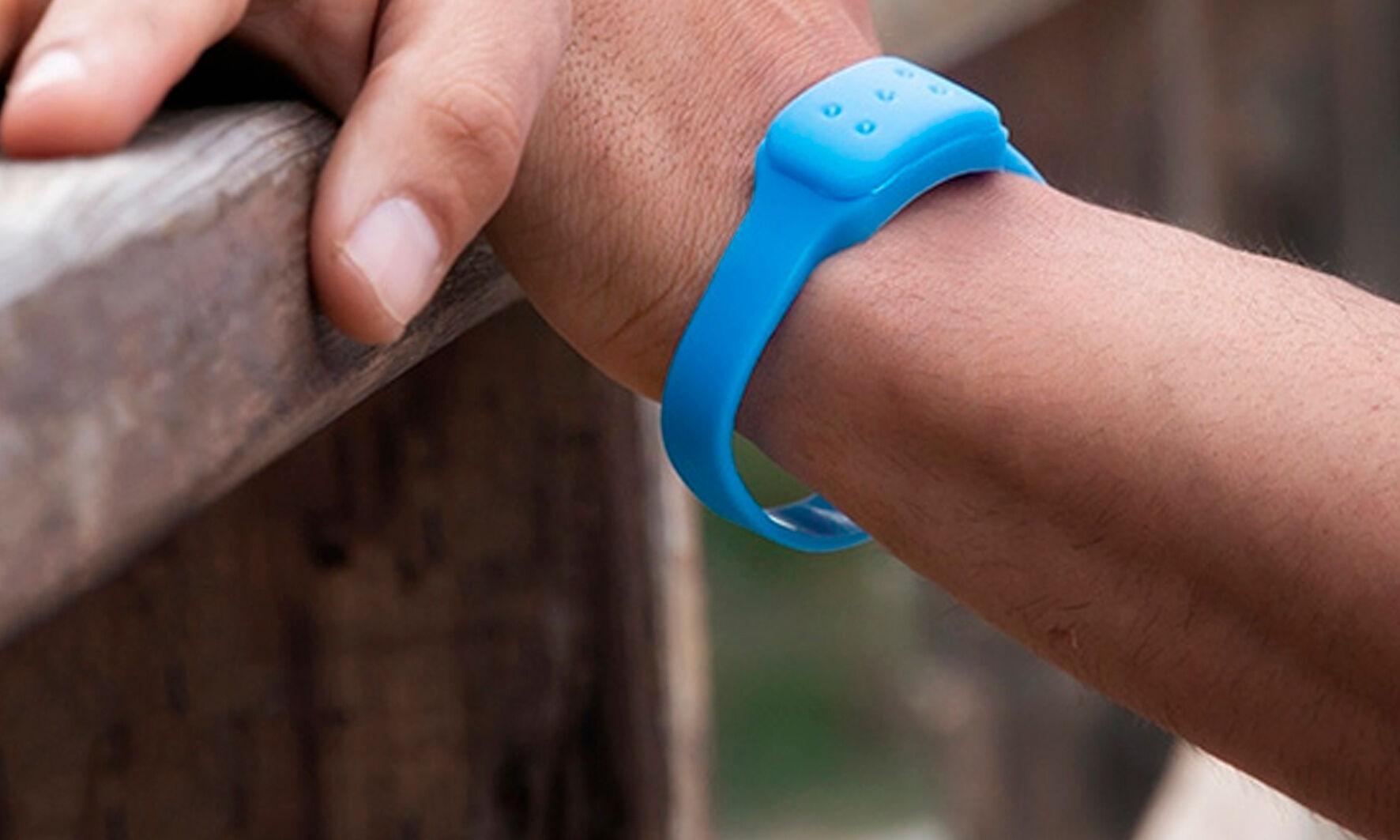 Bracelet anti-moustique : 2