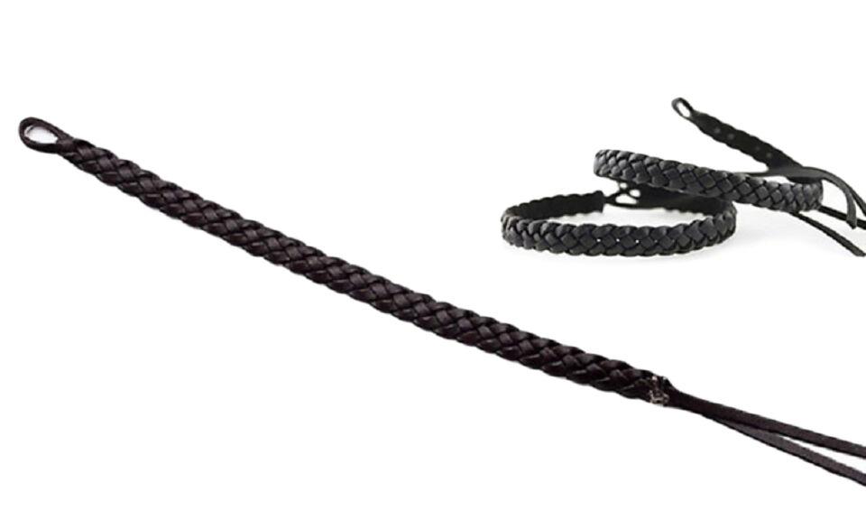 Bracelet anti-moustiques tressé : 2 / Noir