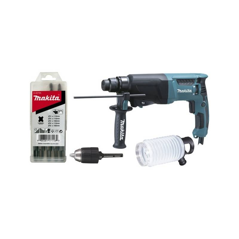Makita Perforateur burineur sds+ hr2600x9 800w - makita