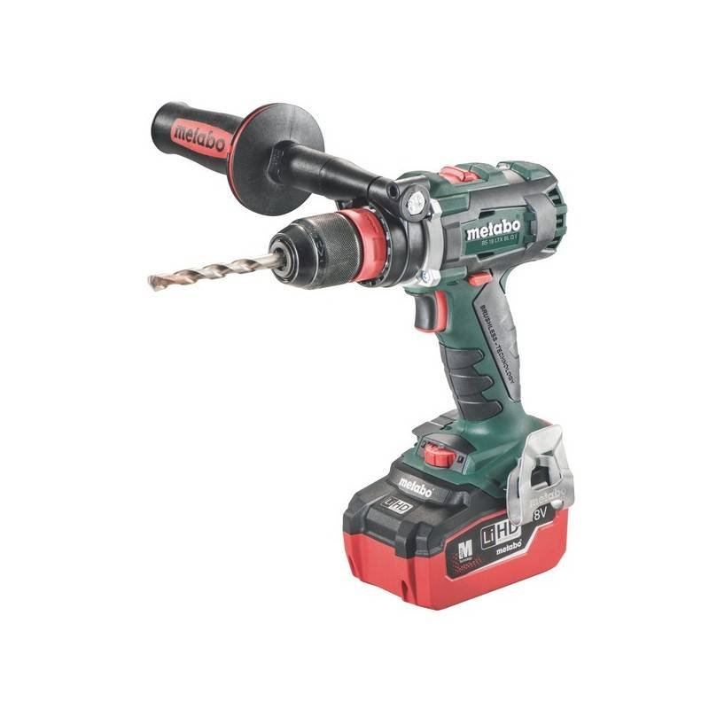 Metabo Perceuse-visseuse sans fil bs 18 ltx bl q i - metabo