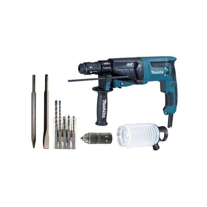 Makita Perforateur-burineur sds-plus 800w hr 2631 ftx4 - makita