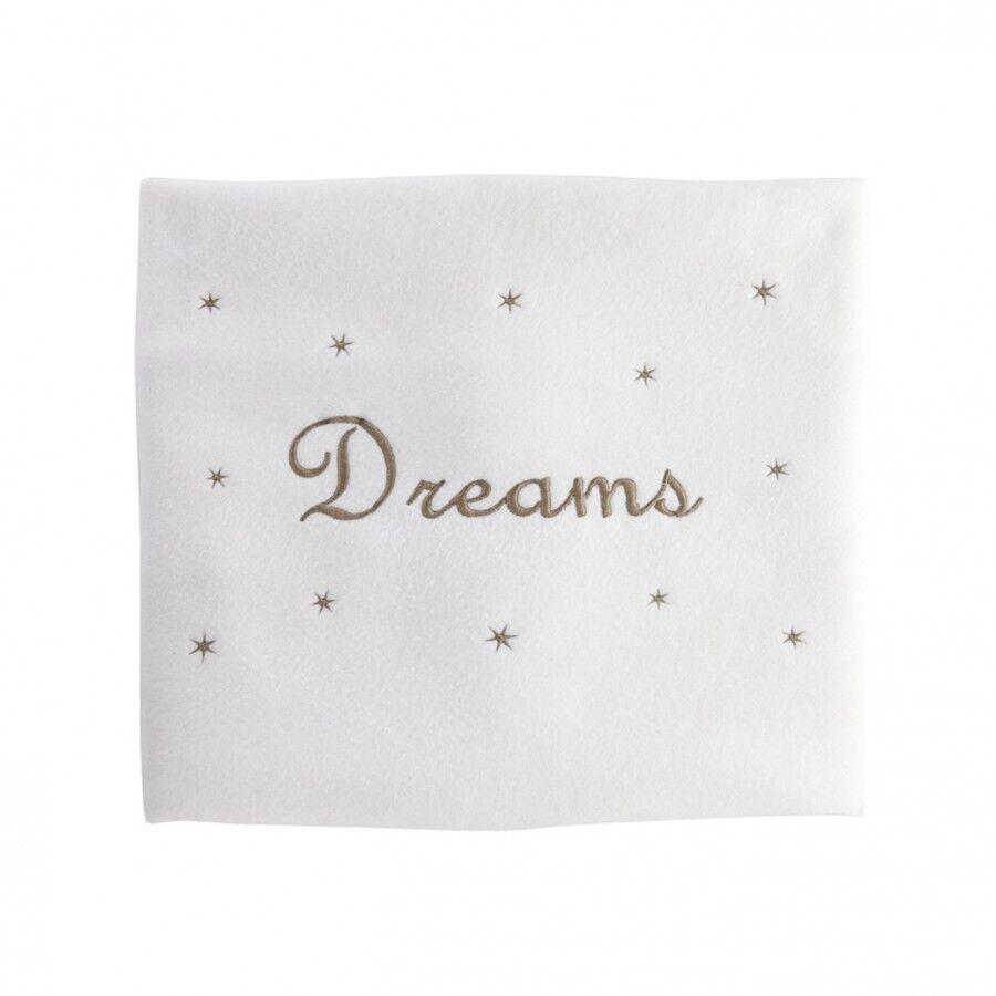Cesar & rosa Couverture polaire bébé personnalisée - petites étoiles