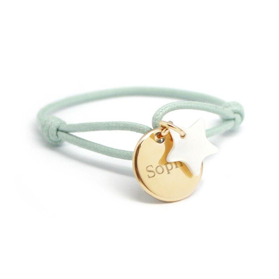 Petits tresors Bracelet personnalisé enfant - etoile