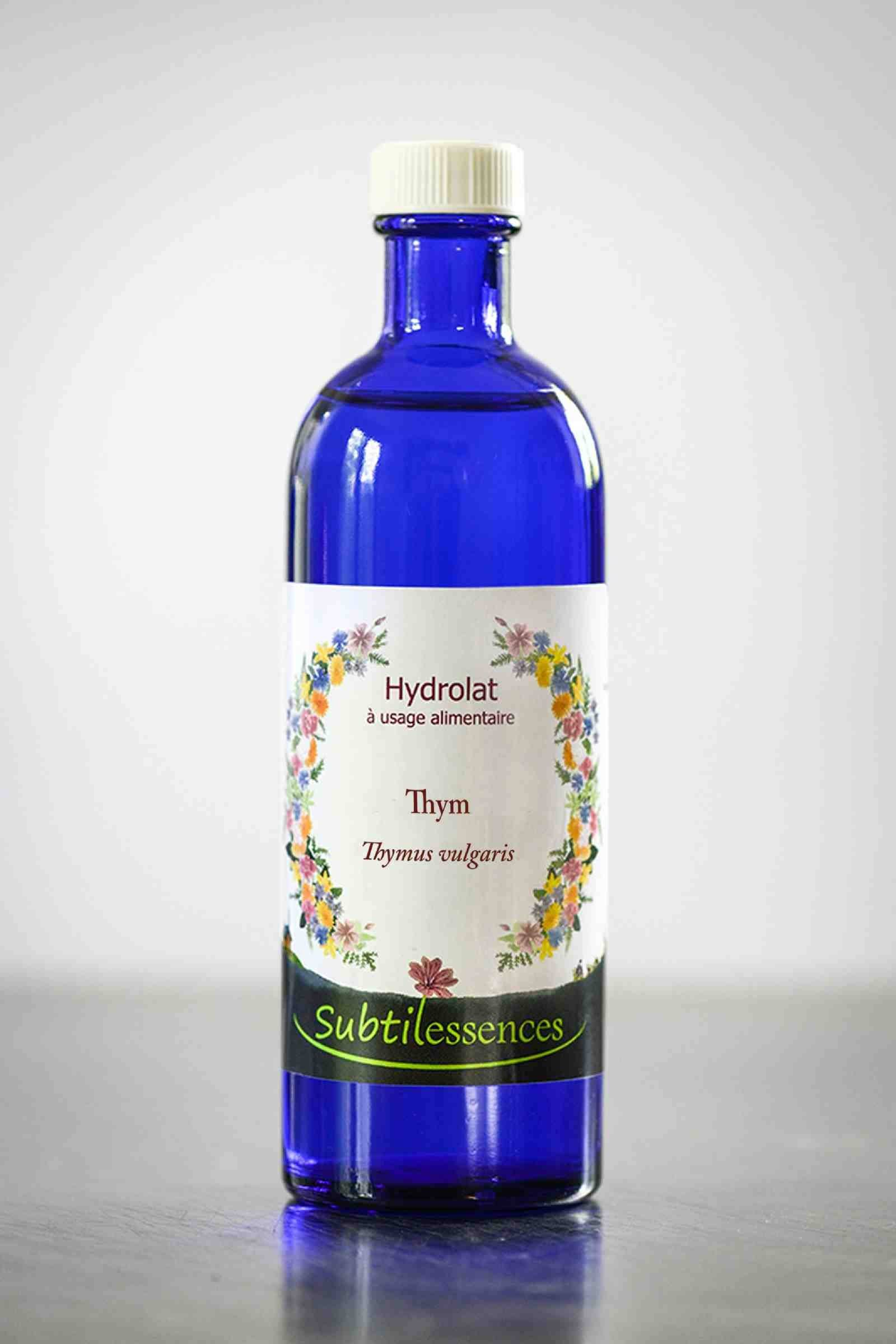 Hydrolats & eaux florales Hydrolat de Thym Carvacrol (Thymus Vulgaris carvacroliferum) - Eau florale