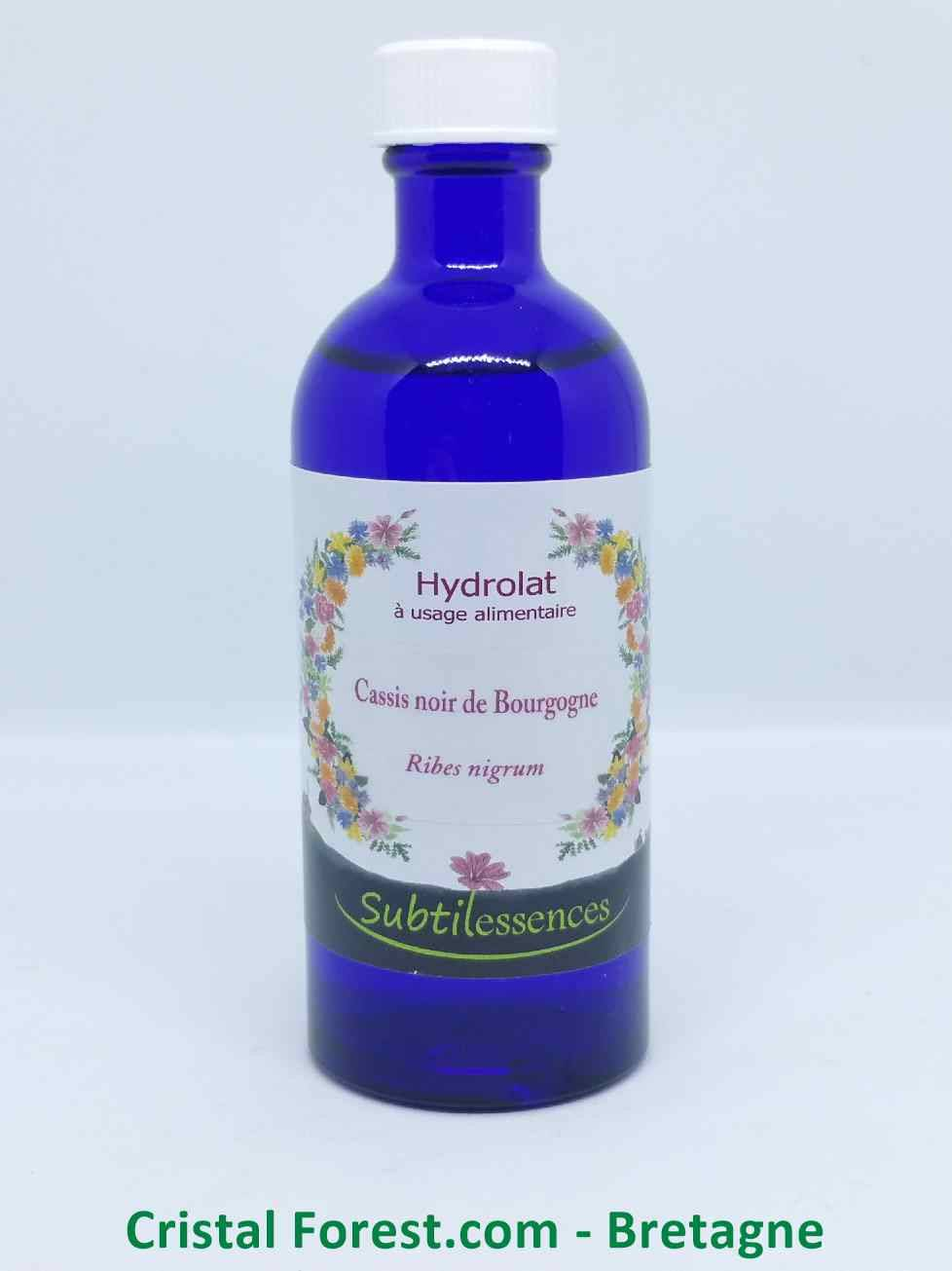 Hydrolats & eaux florales Hydrolat Cassis noir de Bourgogne - Ribes nigrum (eau florale)