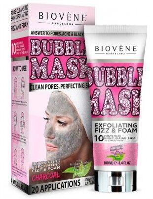 Biovène Bubble mask nettoyant au thé vert