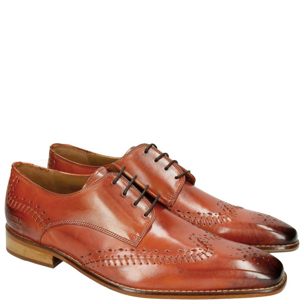 Melvin & Hamilton PROMO Clark 1 Derbies Orange pointure: Du 39 au 47
