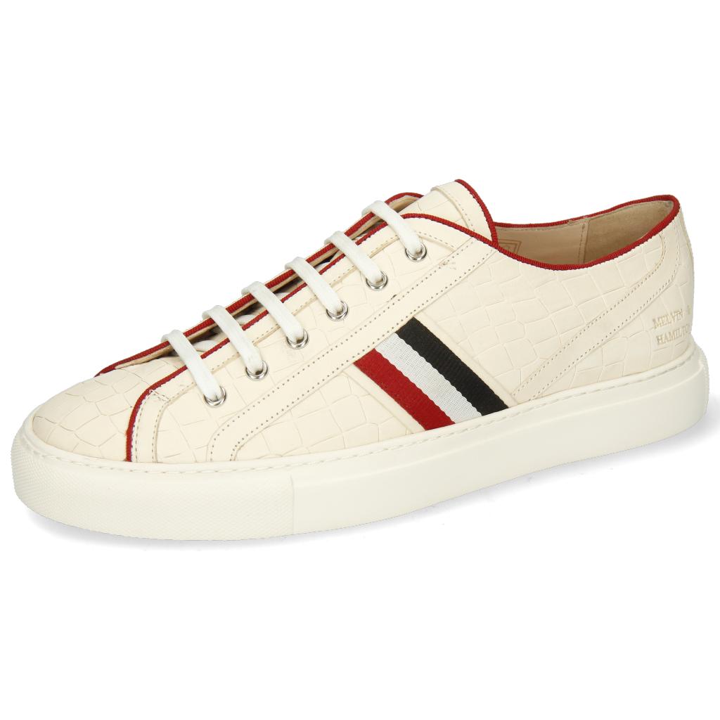Melvin & Hamilton Harvey 34 Hommes Sneakers Blanc pointure: Du 39 au 47