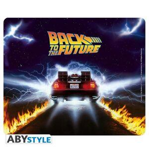 Abysse Corp RETOUR VERS LE FUTUR - Tapis de souris - DeLorean - Publicité