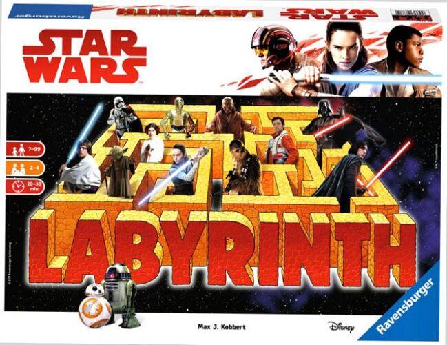 IELLO Labyrinthe Star Wars VII