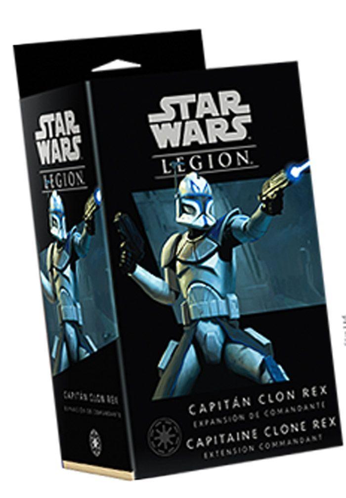 Asmodee Star Wars Legion : Capitaine Clone Rex