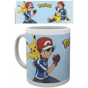Intrafin Pokemon Ash Mug - Publicité