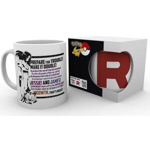 Intrafin Pokemon Team Rocket Mug - Publicité