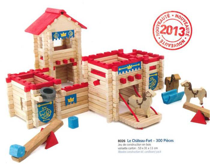Jeujura Chateau Fort 300 Pieces