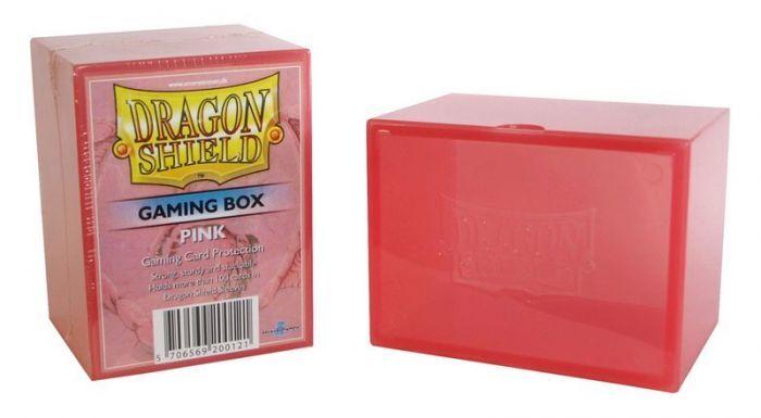 IELLO Dragon Shield - Gaming Box - Pink (boite de rangement)