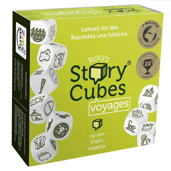 Asmodee Rory's Story Cubes : Voyages (Vert)