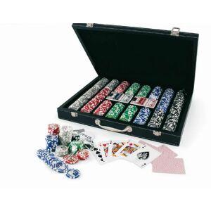 France Cartes Coffret Poker facon cuir 300 jetons - Publicité