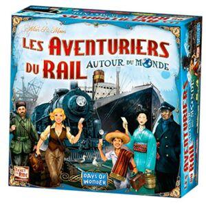 Asmodee Les Aventuriers du Rail - Autour du Monde - Publicité
