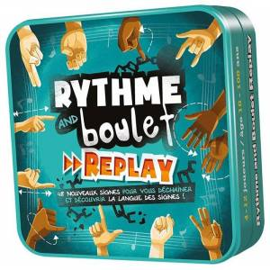 Asmodee Rythme and Boulet : Replay - Publicité