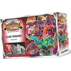 Asmodee SDE - Super Dungeon Explore : Clan Vouivre, Bande Armee - Publicité