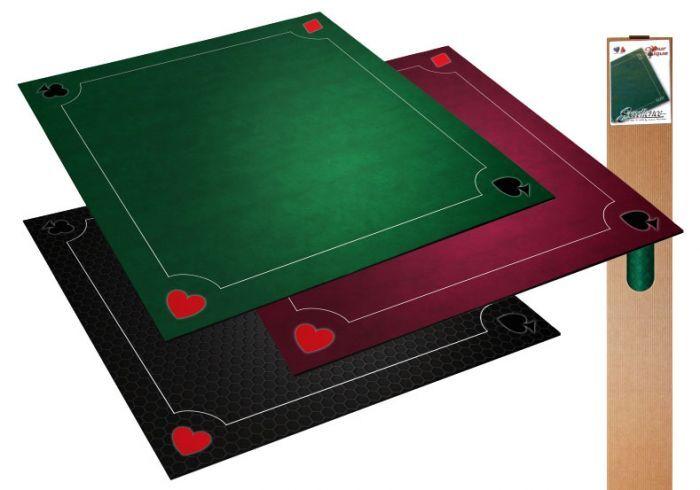 Loisirs Nouveaux Tapis Multi jeux Coeur de Pique Excellence Noir 60* 60 cm