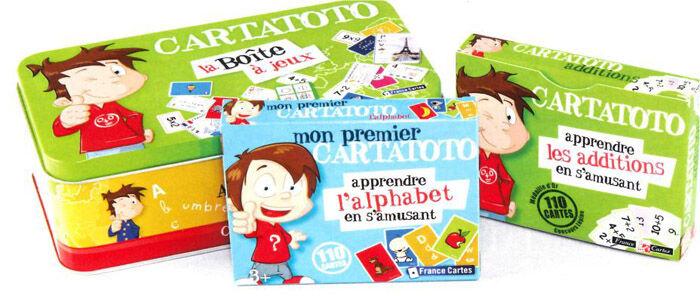 France Cartes Boite a jeux Cartatoto maternelle