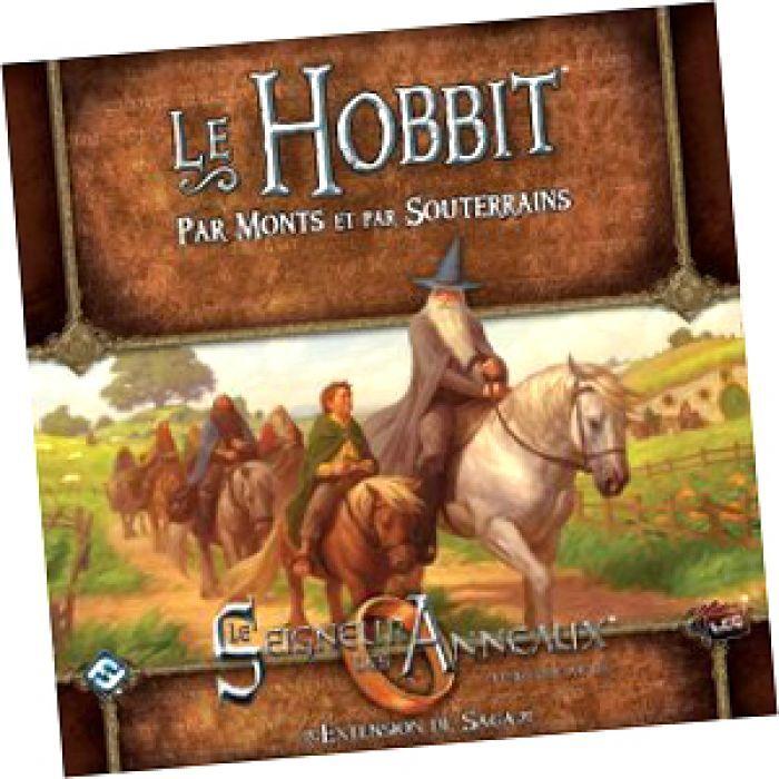 Asmodee Seigneur des Anneaux JCE : Le Hobbit Par Monts et Par Souterrains
