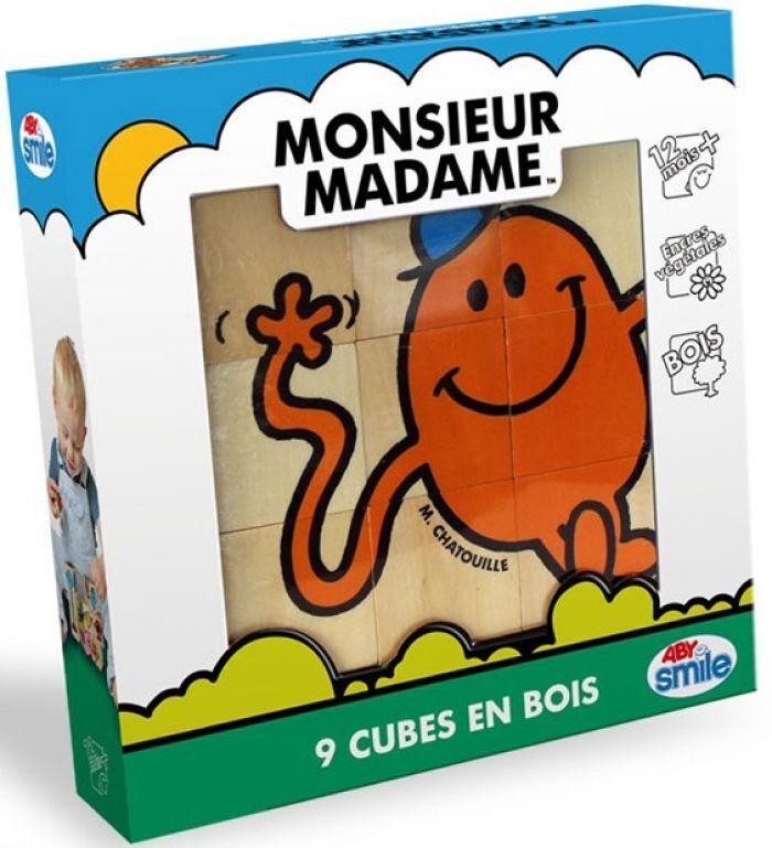 Abysse Corp MONSIEUR MADAME - Bois - 9 cubes