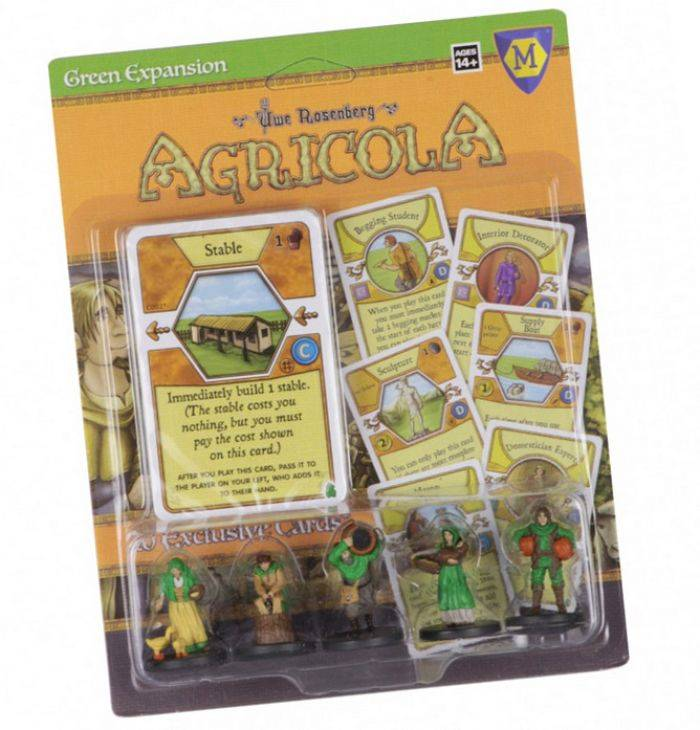 BlackFire Agricola: Game Expansion Green