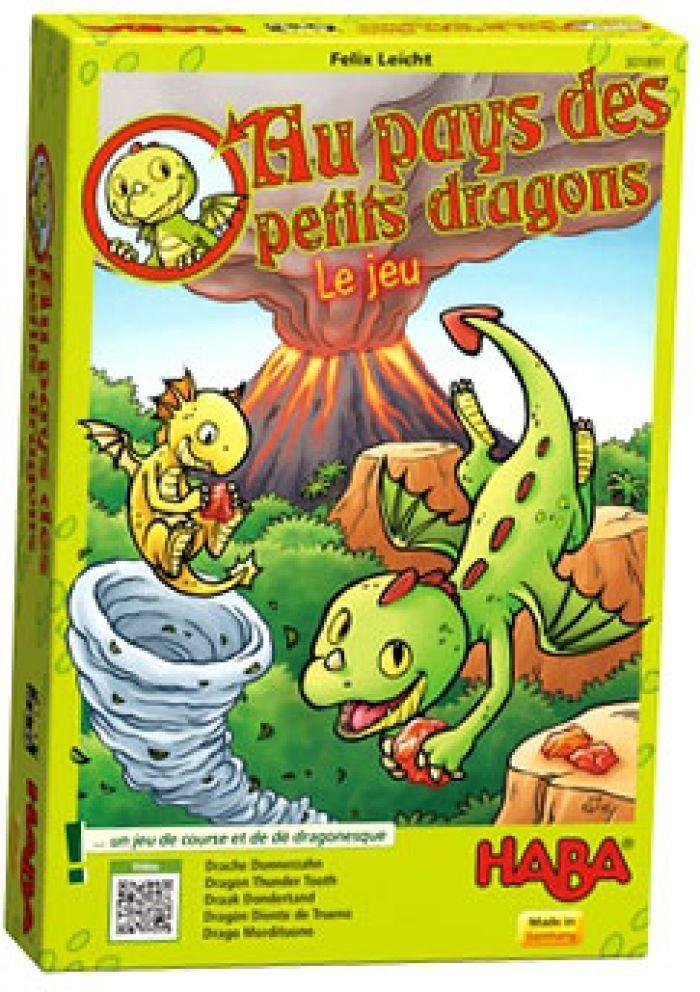 Haba Au pays des petits dragons - Le jeu