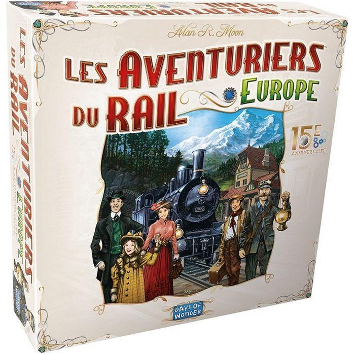 Asmodee Les Aventuriers Du Rail - Europe : 15e Anniv.
