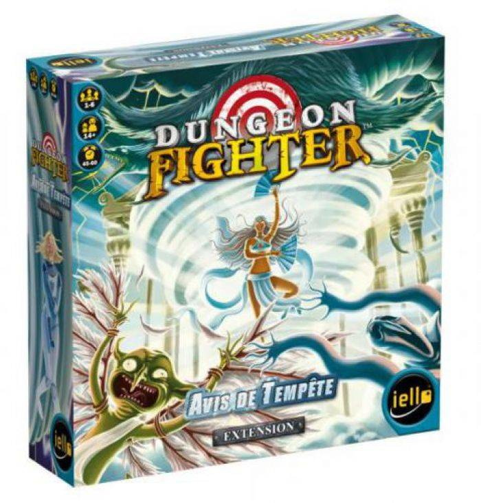 IELLO Dungeon Fighter Avis de tempete