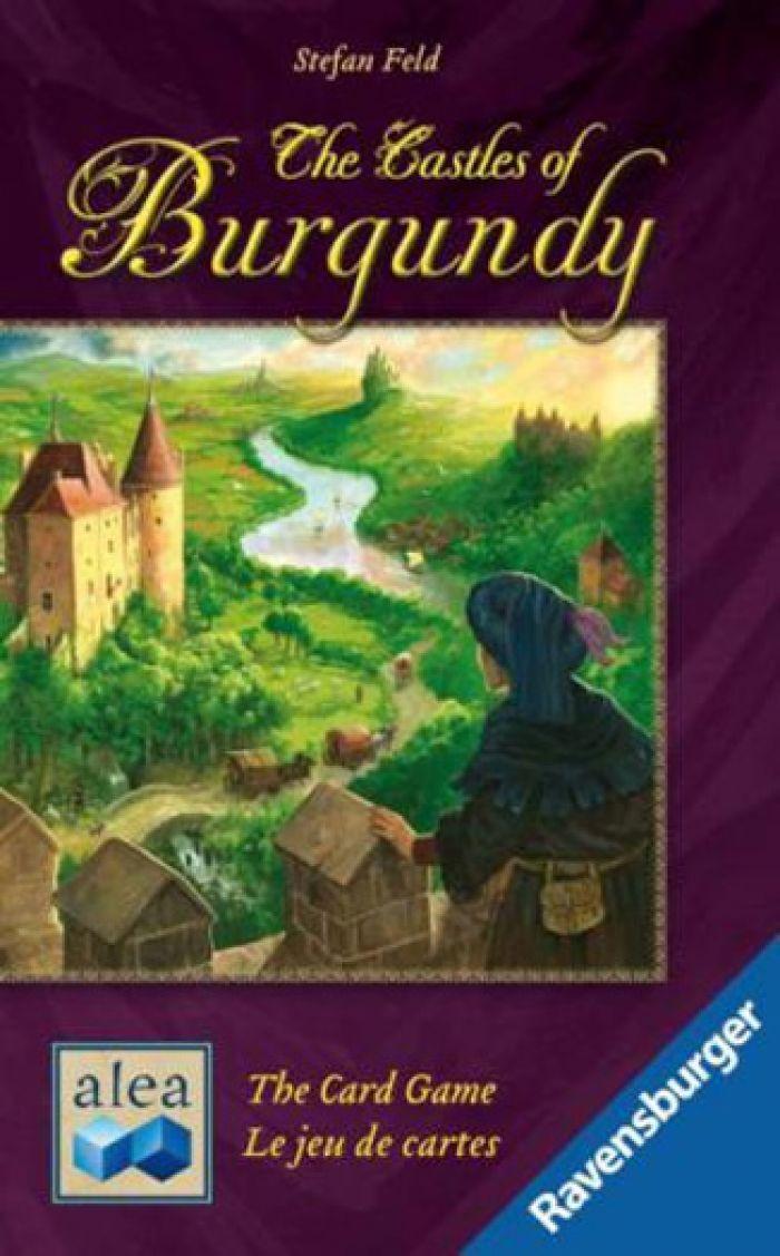 IELLO Les Chateaux de Bourgogne : Le Jeu de Cartes