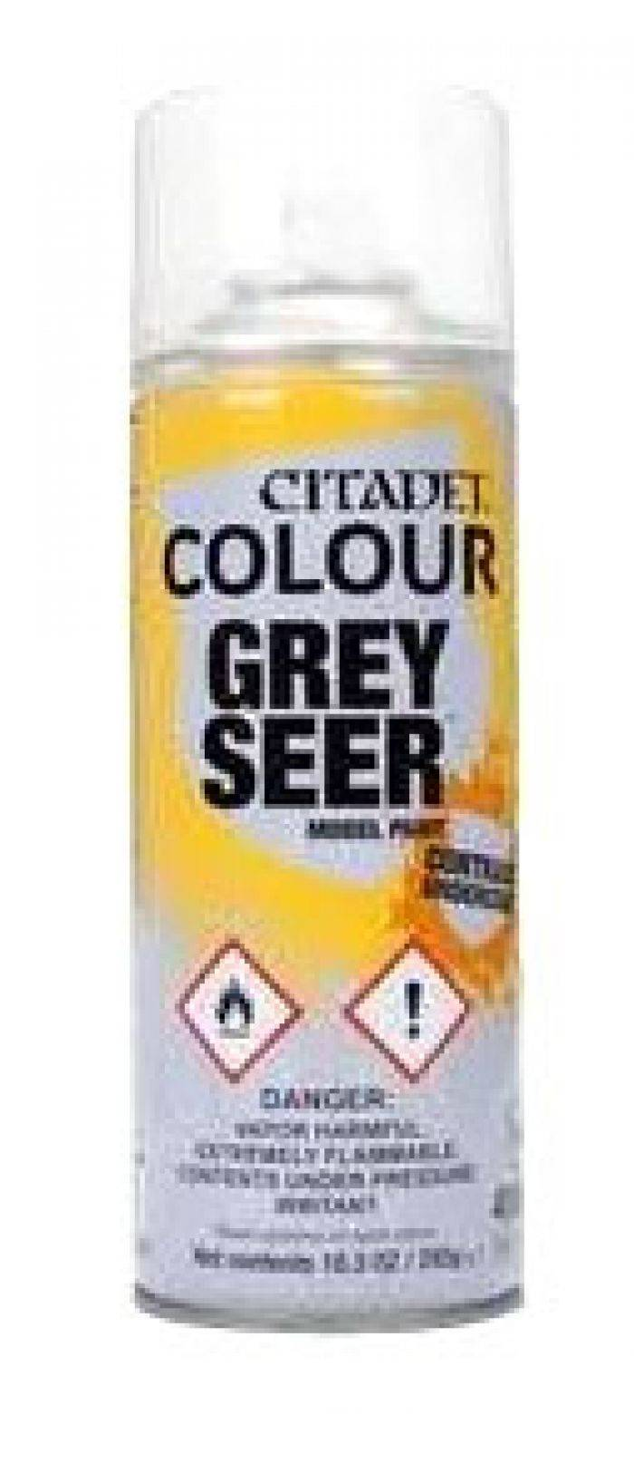Games Work Shop Citadel : Sous-couche - Grey Seer Spray (400ml)
