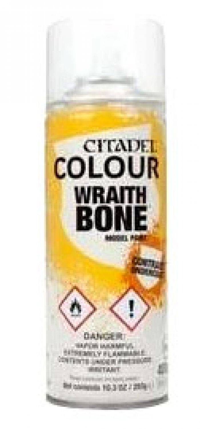 Games Work Shop Citadel : Sous-couche - Wraith Bone Spray (400ml)