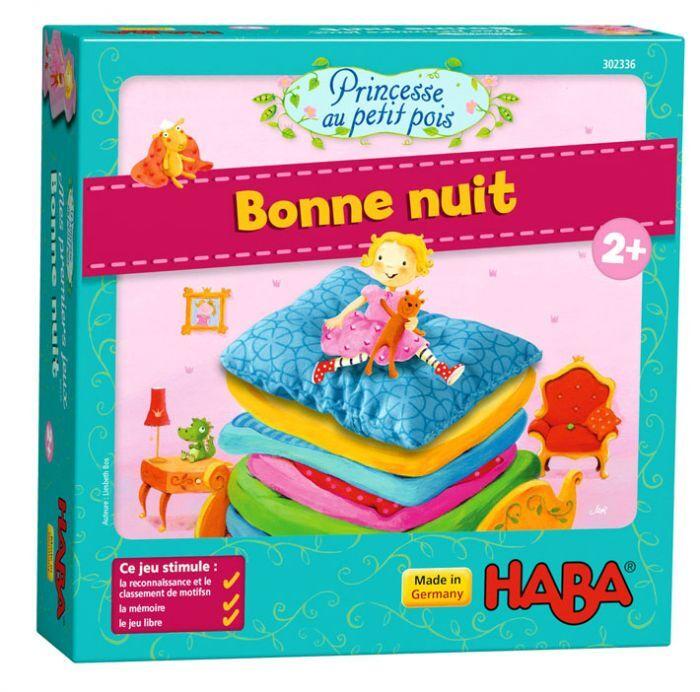 Haba Mes premiers jeux – Princesse au petit pois – Bonne nuit