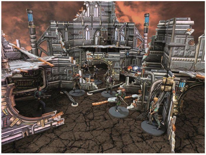BlackFire Battle Systems : Gothic Ruins - EN