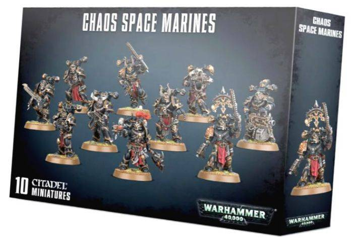 Games Work Shop CHAOS SPACE MARINE SQUAD