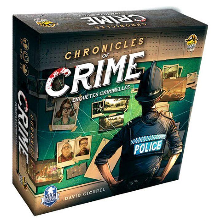 Abysse Corp CHRONICLES OF CRIME - Enquetes Criminelles le jeu de plateau