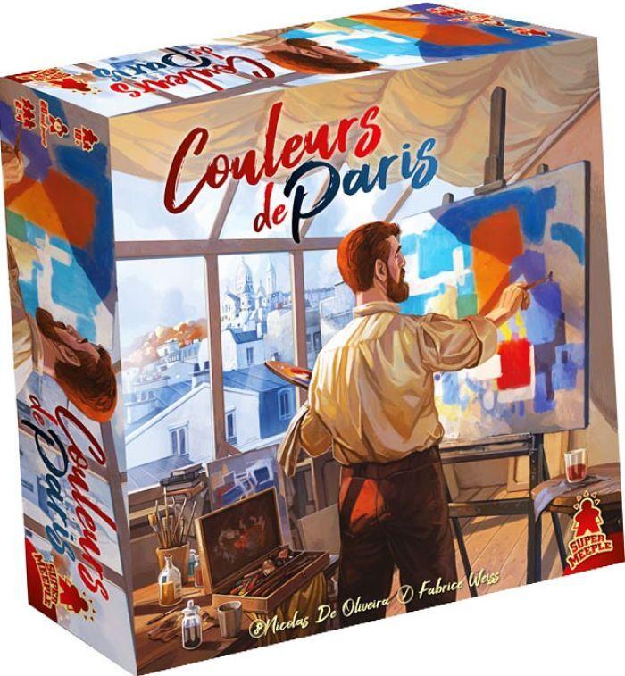 Neo Ludis COULEURS DE PARIS – Jeu De Plateau