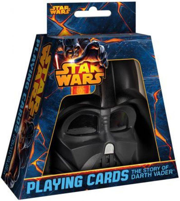 France Cartes Star Wars - Coffret Masque Dark Vador + Jeu De 54 Cartes