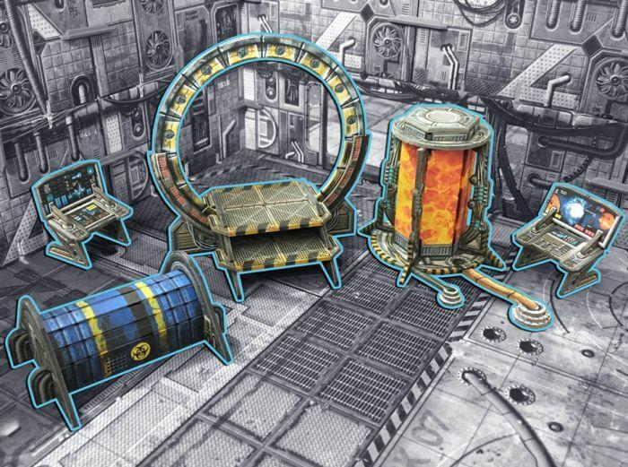 BlackFire Sci-fi Dimension Gate - Porte Dimensionnelle